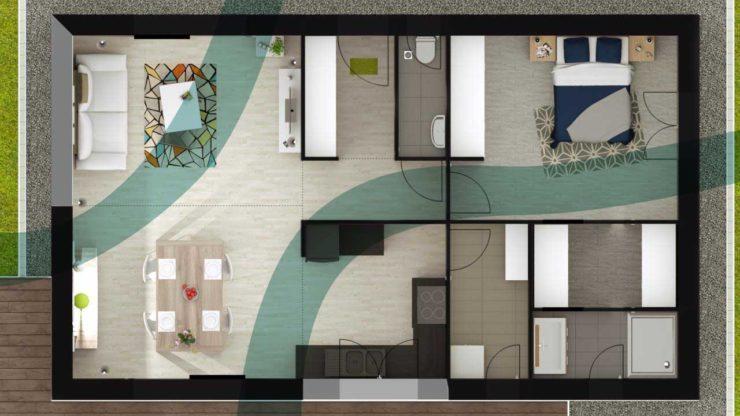 int grer le feng shui dans la construction de sa maison. Black Bedroom Furniture Sets. Home Design Ideas