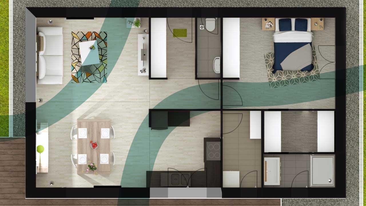 Int grer le feng shui dans la construction de sa maison - Le feng shui dans la maison ...
