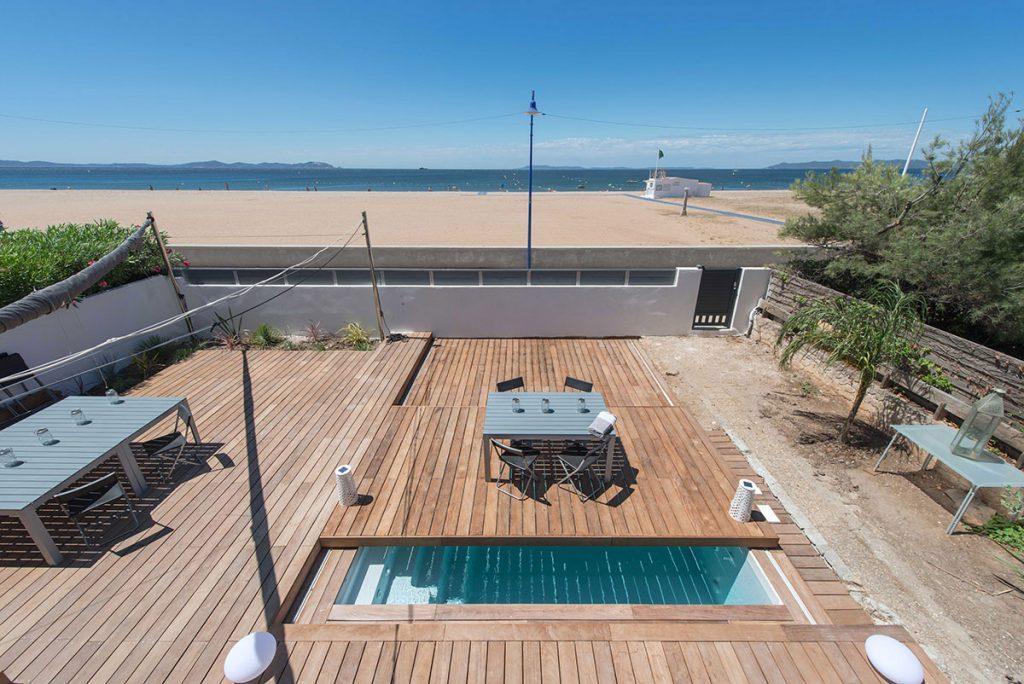 Terrasse mobile la nouvelle plateforme coulissante pour for Piscine portable brico