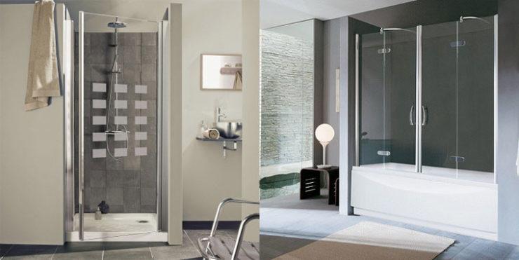 vitre de douche sur mesure