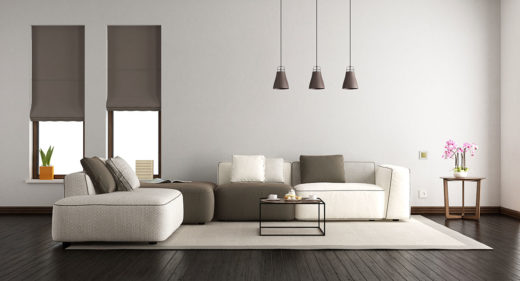 salon moderne maison