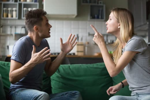 conflit couple travaux divorce