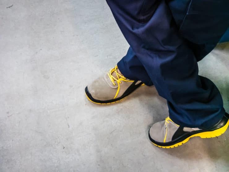 Chaussire sécurite travaux maison