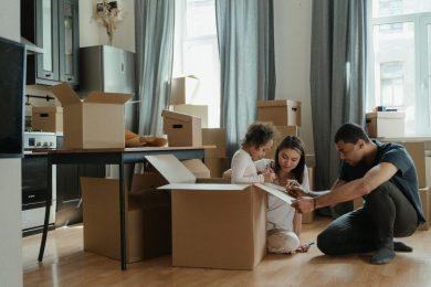 emmenagement famille