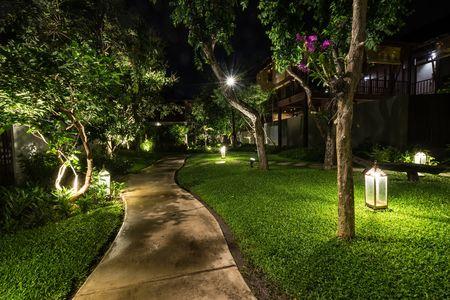 lampadaire jardin exterieur